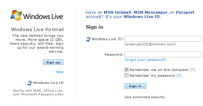 msn.se hotmail login Eskilstuna