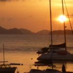 Sunset in Saint John